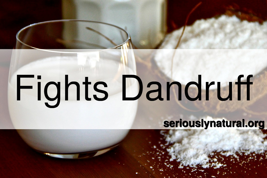 Click here for Coconut Oil Refined Organic Superfood to help fight with dandruff