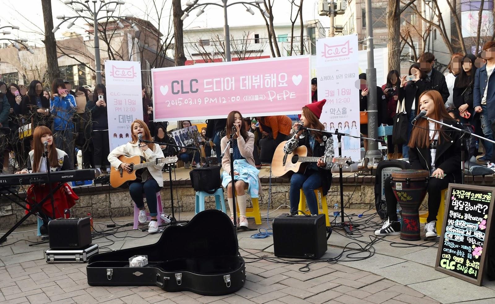 The reason why kpop idols show performance on the streets - Kpop