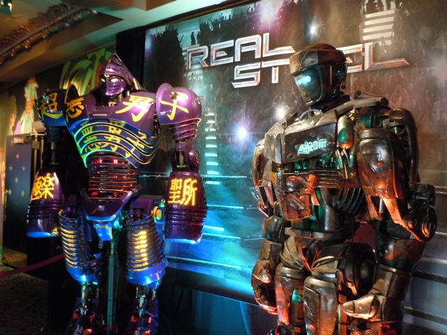 Real Steel animatronic robot display