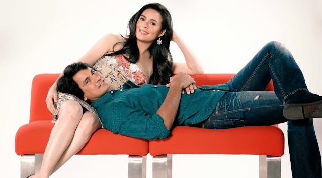 Richard Gomez and Dawn Zulueta topbilled You're My Home