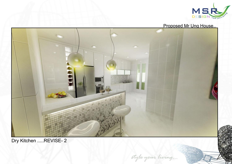 Mica Interior Design And Construction Kitchen 3d