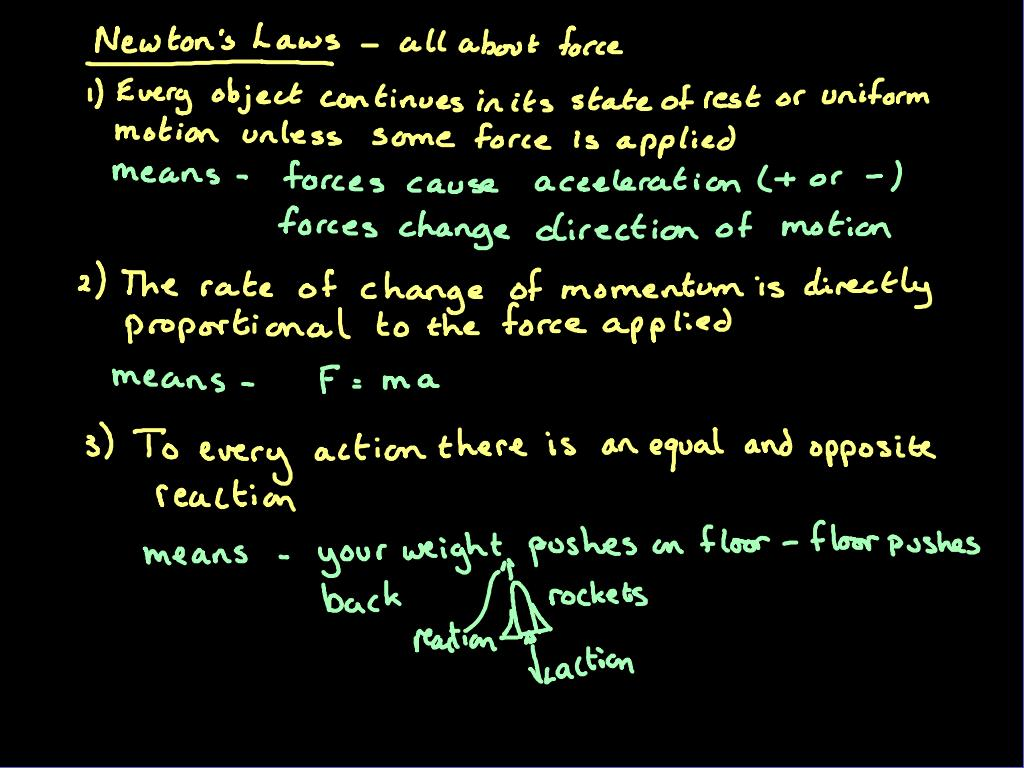 Gcse Physics Acceleration And Force Newton S Laws
