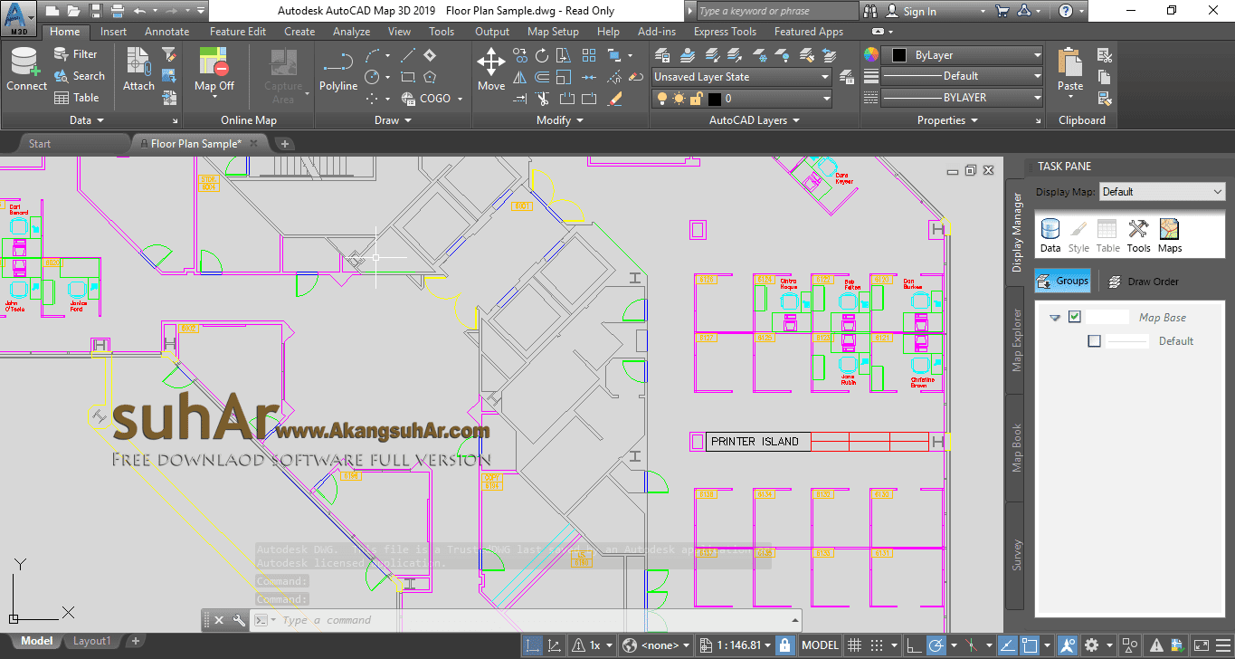 Download Autodesk AutoCAD Map 3D 2019 Full Serial Number, Autodesk AutoCAD Map 3D 2019 Final