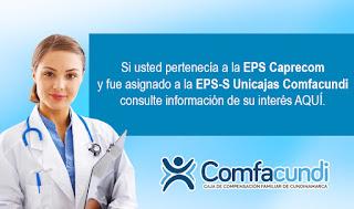 Certificado de Afiliacion Comfacundi en Linea