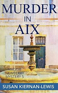 Murder in Aix - a cozy mystery by Susan Kiernan-Lewis