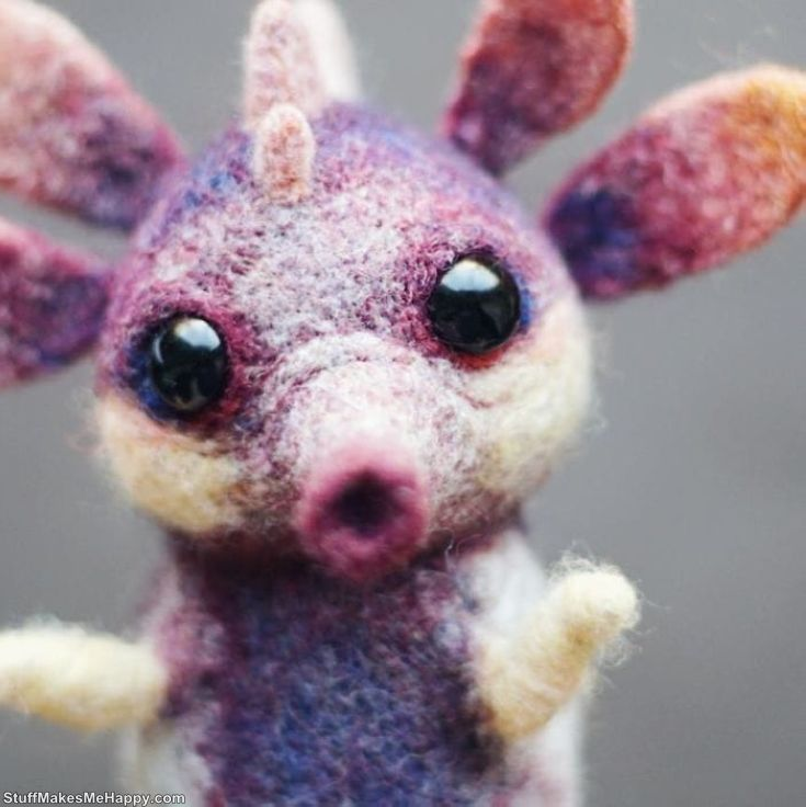 Amazingly Realistic Toys Made Out of Wool
