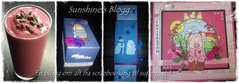 Sunshine's blogg