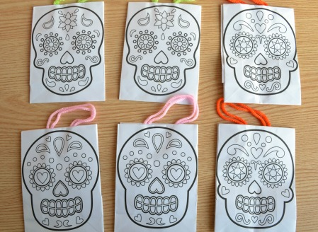 ?Halloween gift bags for kids DIY (Review)