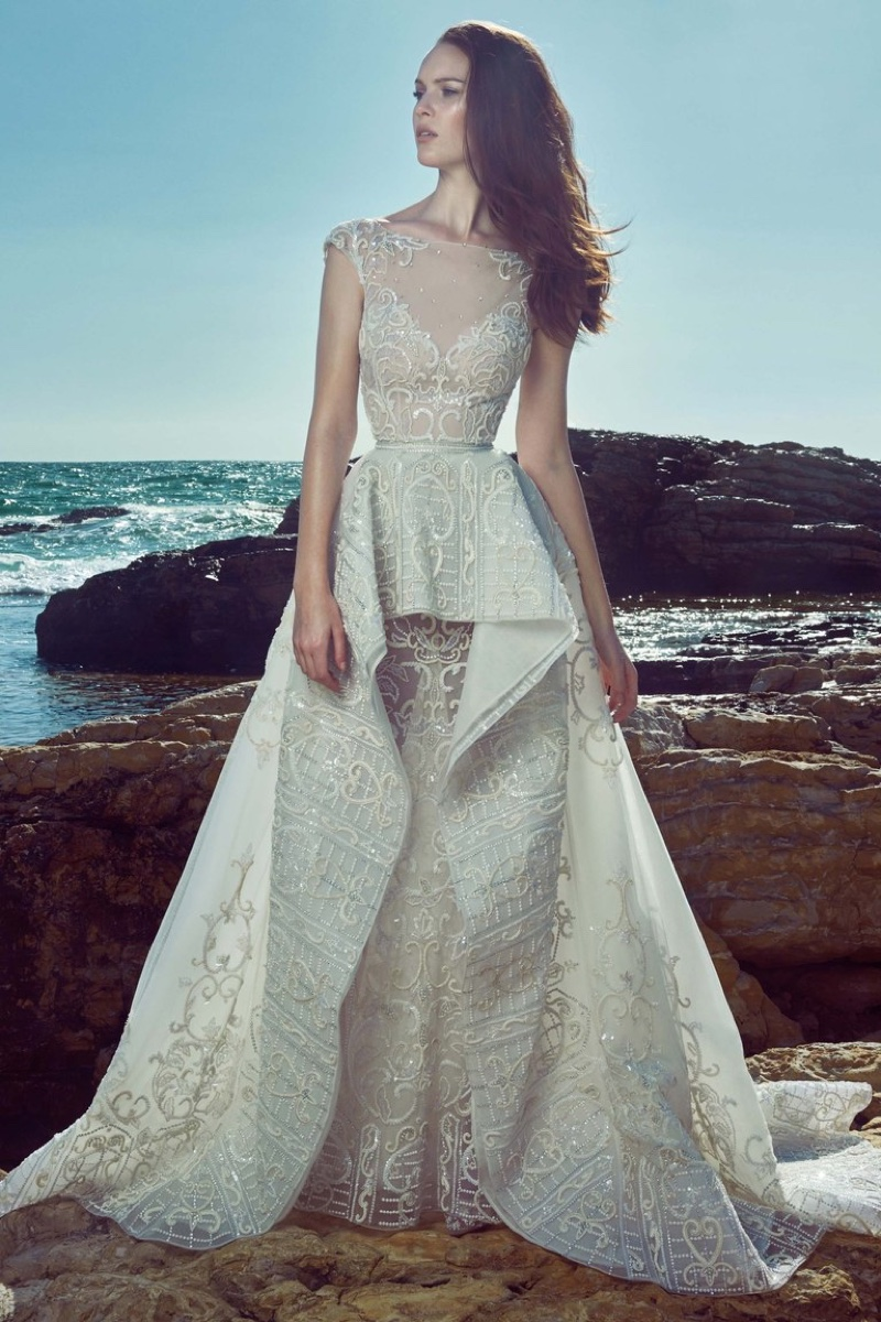 Zuhair murad bridal dresses spring 2017 my face hunter for Zuhair murad wedding dress