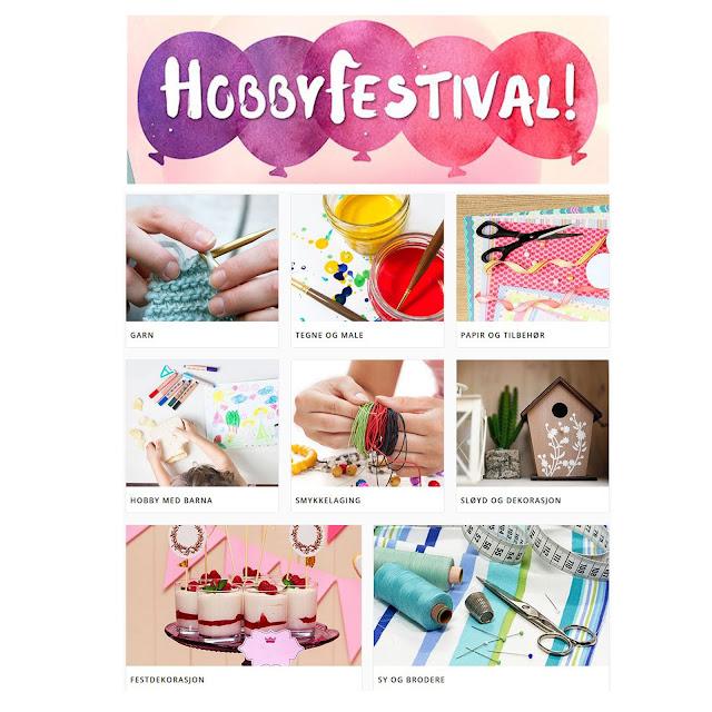 Hobbyfestival hos Adlibris