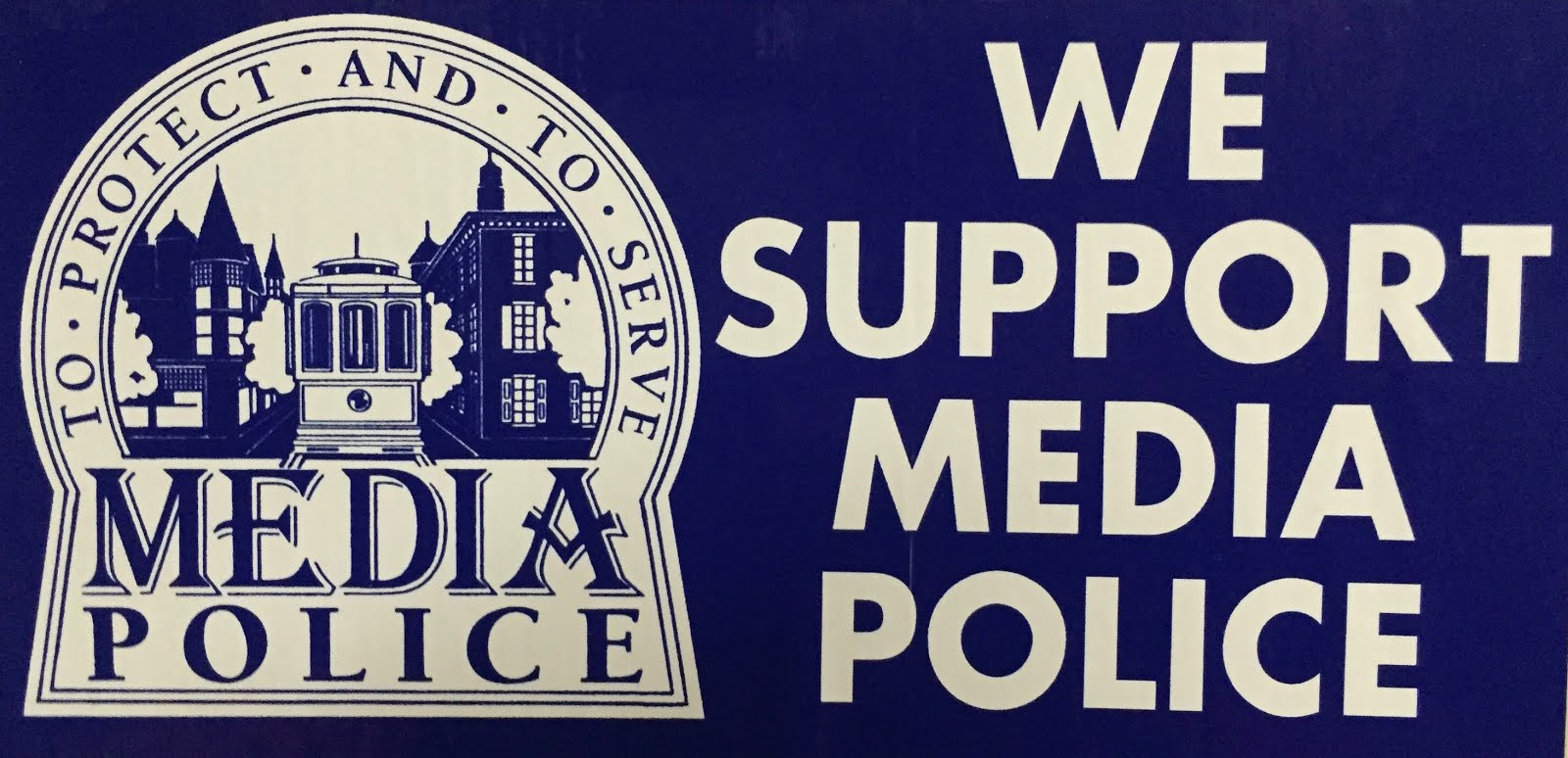 We Support Media Police and First Responders
