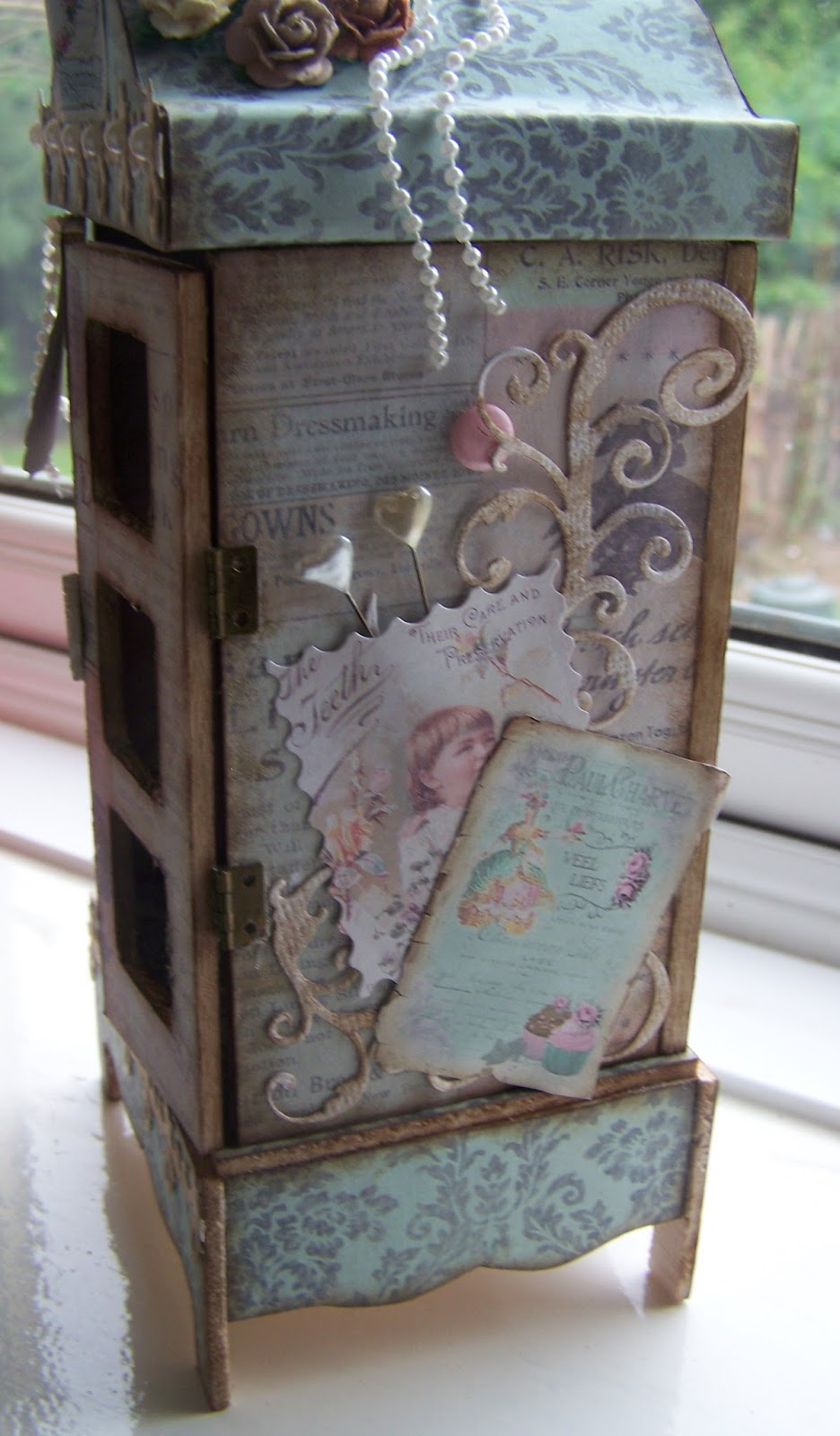 Pretty Cards 4 You Shabby Chic  Famous Artist  Tando