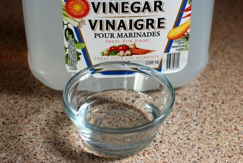 Vinegar helps save money at home.
