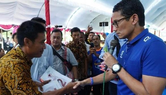 Warga Grobogan Minta Maaf Ke Sandi, Masyarakat Dijegal Untuk Menghadiri Kampanyenya
