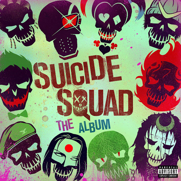 Various Artists - Suicide Squad: The Album Cover