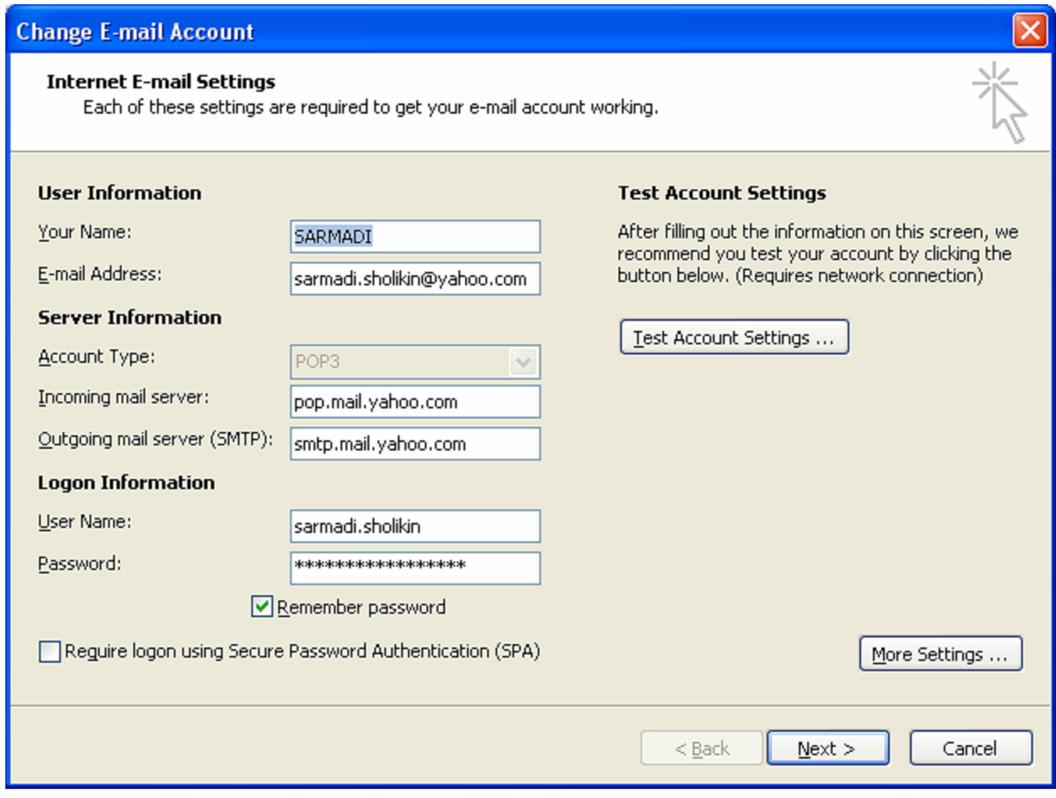 How to setup Internet email accounts in Outlook 2016 or 2016