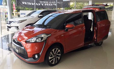 Harga Toyota Sienta Terbaru