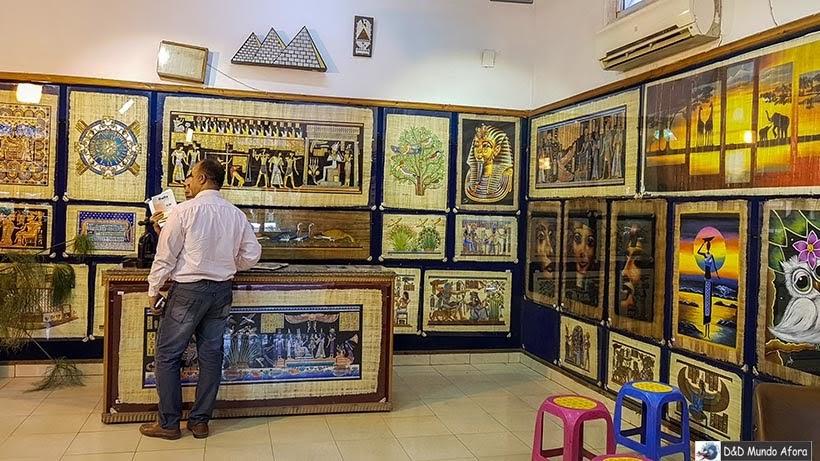 Instituto do Papiro - o que fazer no Cairo