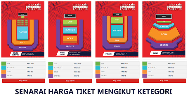 Dapatkan Tiket Konsert 'Maher Zain Malaysia Tour 2019' Yang Akan Diadakan Pada Mac 2019