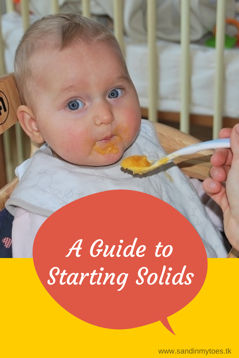 A guide to starting solids for your baby