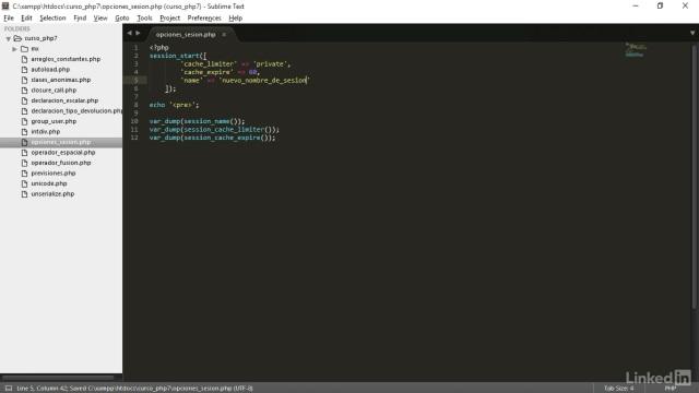 Novedades PHP 7 curso 3