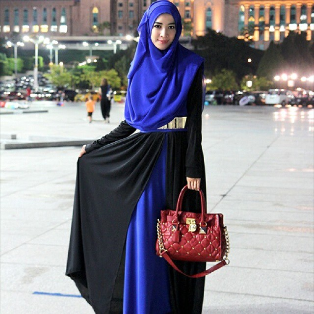 hijab fashion id e de tenue pour femme voil e hijab et. Black Bedroom Furniture Sets. Home Design Ideas