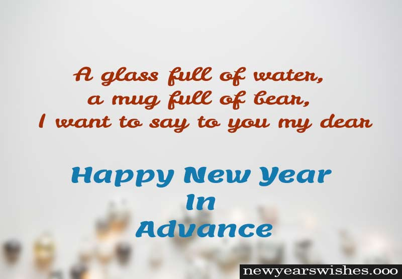 new year advance wish 2019