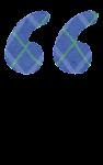 ダブルクオーテーションマークのイラスト文字(左)