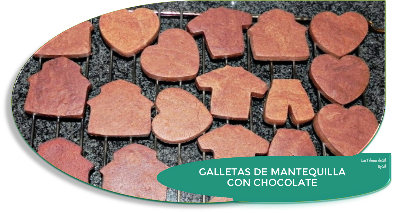 GALLETAS DE MANTEQUILLA CON CHOCOLATE