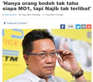 Image result for rahman dahlan  said Najib Razak MO1 officer on tumpang sekole