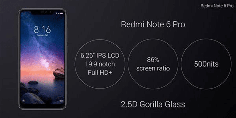 Xiaomi Redmi Note 6 Pro with AI quad-camera setup goes official