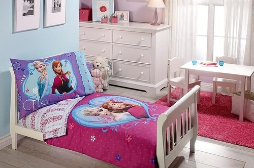 30 Examples of Themed Girls Bedroom Decorations Frozen