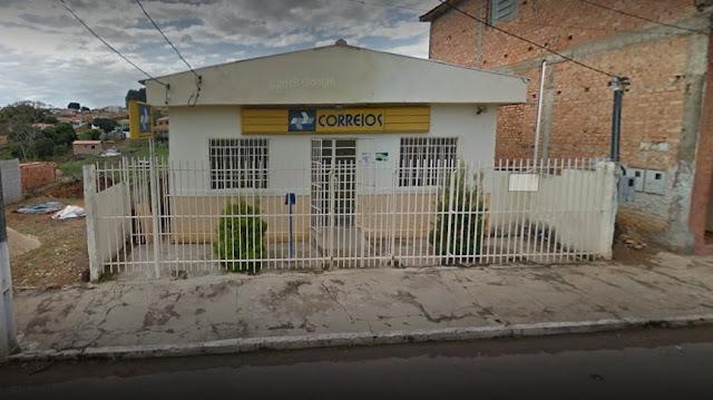 Agência dos Correios é assaltada por dupla no Centro de São Bento Abade, MG - Foto: Google