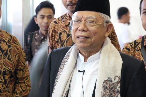 KH Ma'ruf Amin Dukung Aksi Simpatik 55