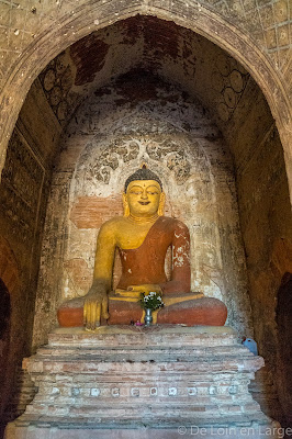 Ywa-Haung-Gyi temple - Bagan - Myanmar - Birmanie
