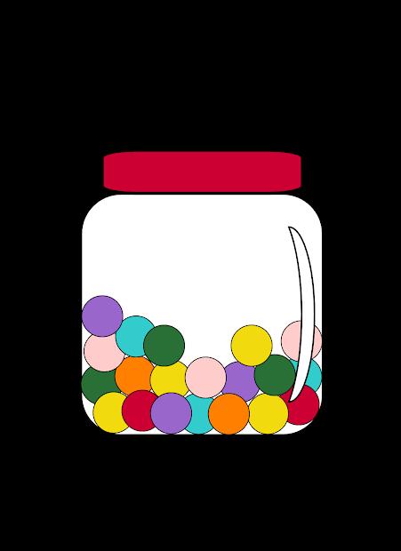 Free Clipart Clip Art Candy Jar