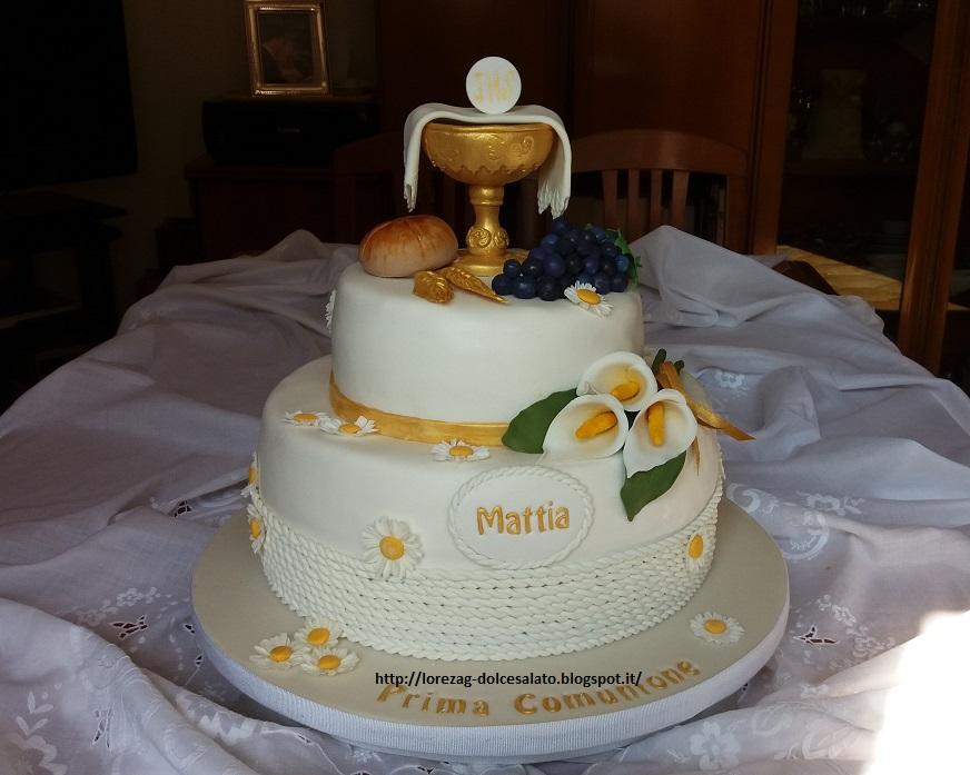 Torte di comunione in pasta di zucchero nf31 regardsdefemmes for Decorazione torte prima comunione