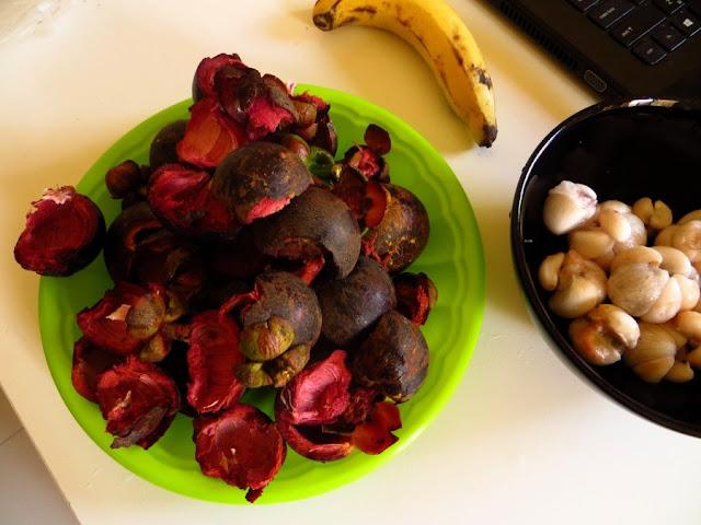 шкурка мангостин и плоды