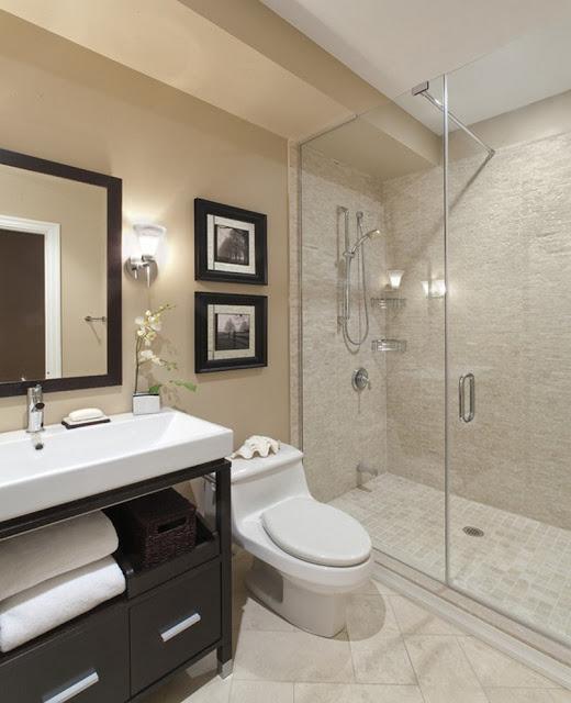 décoration de petite salle de bain