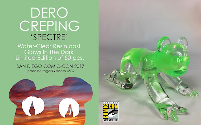 San Diego Comic-Con 2017 Exclusive Spectre Edition Creeping Dero Resin Figure by Jermaine Rogers