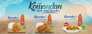 Daftar Harga Paket Komandan (Kombo Asyik Ramadhan) dari CFC Indonesia