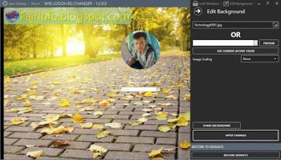 Gambar Background Logon Screen Windows 10
