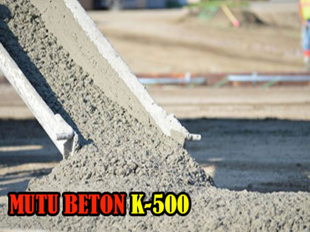 HARGA JAYAMIX MUTU BETON K 500