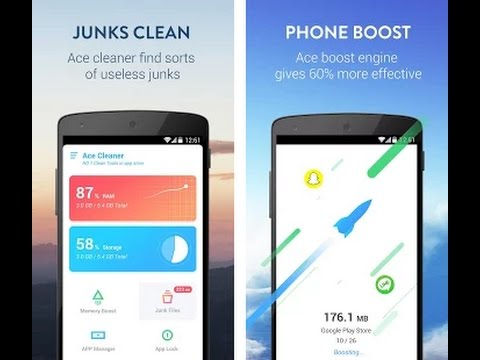 Ace Cleaner app