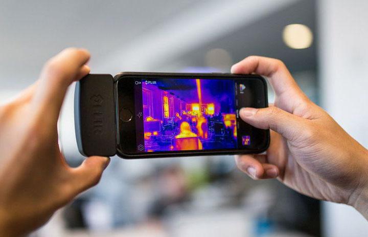 Навесная тепловизионная камера для смартфона | Стартап Ньюс.