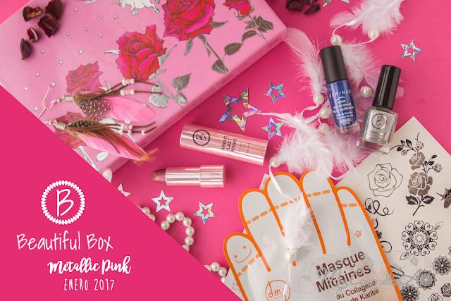 Metallic Pink, la Beautiful Box de enero de 2017 de enfemenino