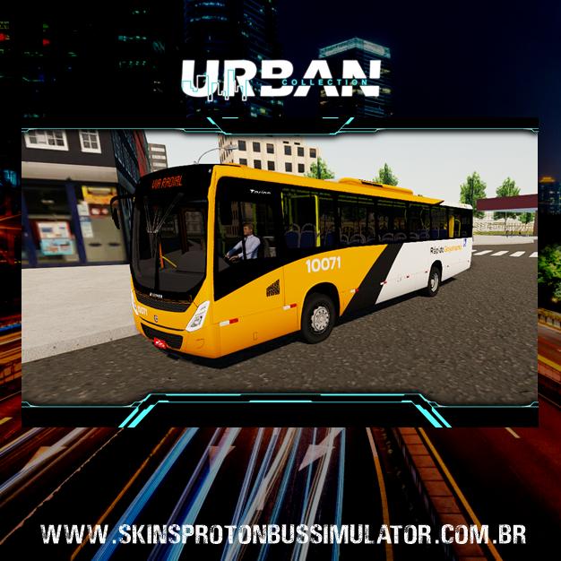 Skin Proton Bus Simulator - Marcopolo Torino 14 MB OF-1721 BT5 Viação Rápido Goyanazes