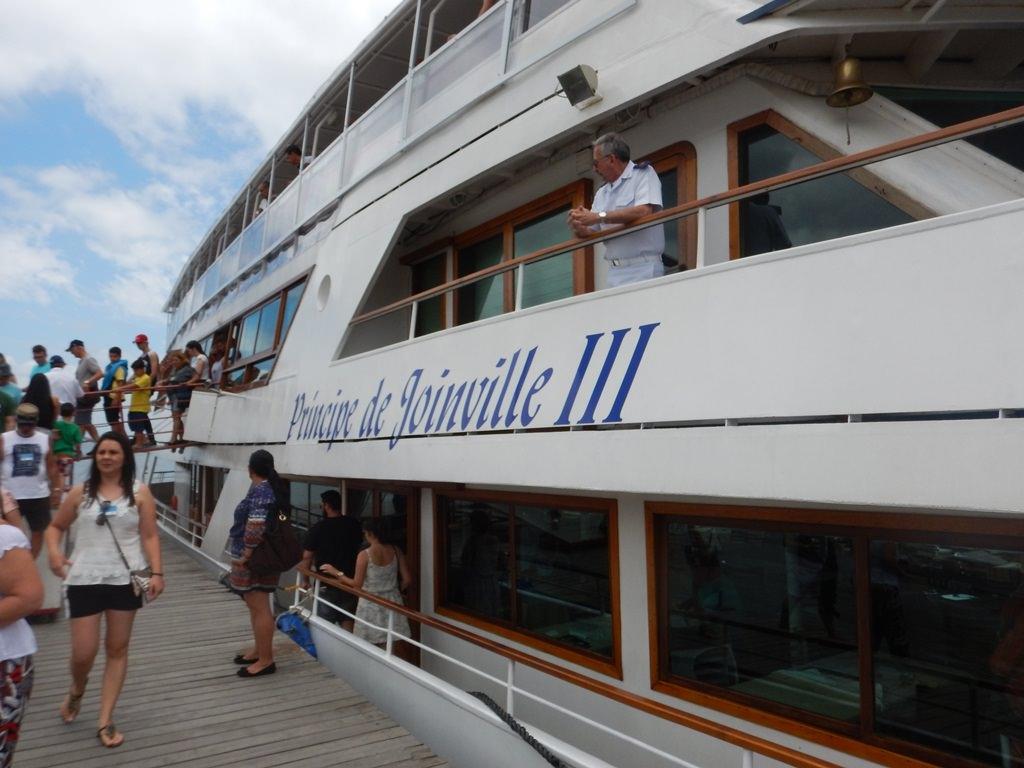 Barco Príncipe em Joinville SC