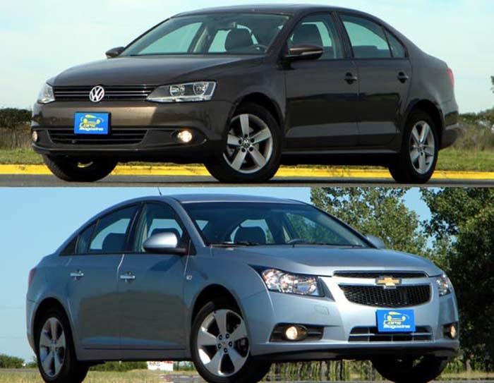 Chevrolet Cruze vence VW Jetta em enquete de site na ...