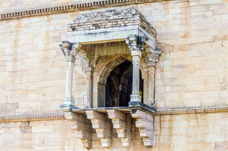 Balconies break the monotony